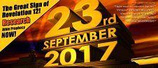 23 september 2017 is de dag