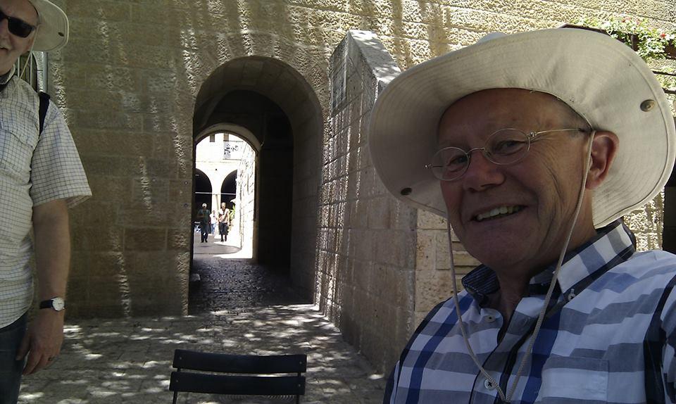Foto: Groet uit Israel. Drie  weken als wachter op de muren van Jeruzalem... en veel andere leuke dingen. Zwerven door de stad en omgeving, enz.